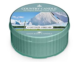 Country Candle, Cotton Fresh, świeca zapachowa daylight, 1 knot