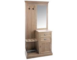 Garderoba drewniana, brązowy