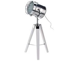 Lampa stojąca w stylu loft, srebrna, 64x30 cm