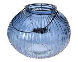 Lampion dekoracyjny HOME STYLING COLLECTION, niebieski, 22 cm