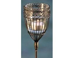Lampion do wbicia, brązowy, 94x8 cm