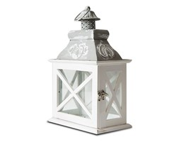 Lampion mały, szary, 35x22x13 cm