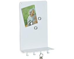 Magnetyczna tablica ZELLER Memo, biała, 33x20x90 cm