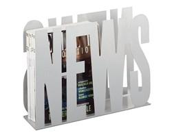 Metalowy gazetnik ZELLER News, biały