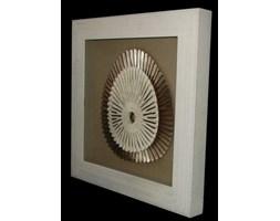 Obraz, rękodzieło, rzeźba, 60x60x6 cm
