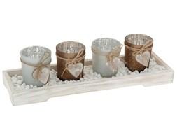 Świeczniki na podstawce, komplet, 5,5 cm