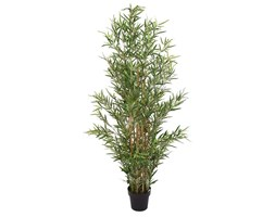 Sztuczne drzewko Bambus, zielone, 166 cm
