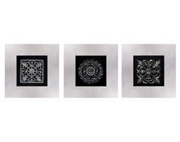Tryptyk, obrazy przestrzenne, 66x66x14,5 cm
