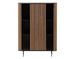 Szafa Linea, Rozmiar: 98 x 45 x 135 cm Kolor: drewno Materiał: drewno