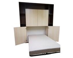 Stelaż do łóżka w szafie z frontami - mechanizm