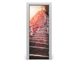 Fototapeta samoprzylepna na drzwi Schody w górach