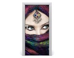 Naklejka fototapeta na drzwi Indyjska kobieta
