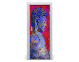 Naklejka samoprzylepna na drzwi Abstrakcja budda