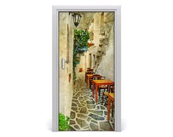 Fototapeta samoprzylepna na drzwi Greckie tawerny