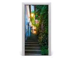 Fototapeta samoprzylepna DRZWI Stare miasto schody