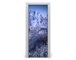 Naklejka na drzwi samoprzylepna Giewont Tatry