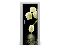 Naklejka samoprzylepna okleina Białe tulipany