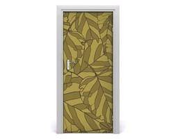 Okleina samoprzylepna fototapety na drzwi Liście