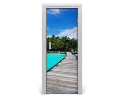 Fototapeta samoprzylepna na drzwi Tropikalny widok