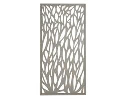 Moduł dekoracyjny Blooma Neva aluminiowy 88 x 179 cm taupe