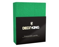 DecoKing - Prześcieradło Frota + Gumka - Zielony