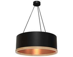 LAMPA wisząca OLIVIER MLP 4488 Milagro okrągła OPRAWA metalowy zwis drewno czarny miedź