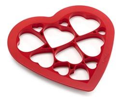 Forma do wykrawania ciastek Puzzle Hearts Lekue czerwona kod: 0200160R01M017
