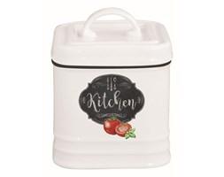 Pojemnik porcelanowy z pokrywą 8x8x11 cm Nuova R2S Kitchen Basics kod: 1619 KIBK