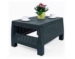 Stolik ogrodowy 77x42cm Corfu Curver grafit kod: BK-002139
