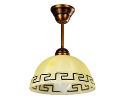 2ff22588ff411 Lampa wisząca 30x22cm Lampex beżowa kod: 066/Z C+M