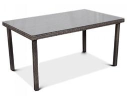 Stół ogrodowy z technorattanu Hamilton : Kolor - Caffe kod: BK-003993