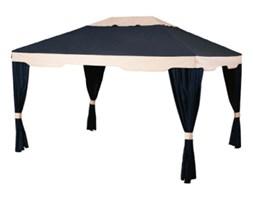 Altana 300x400 cm Miloo Home Gazebo Delux czarno-beżowa kod: ML3683