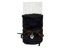 Lampion Black Plush z osłonką 25cm Miloo Home wielobarwny kod: ML2509