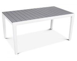 Stół na taras Torino : Kolor - Biały - Jasny szary kod: BK-004588