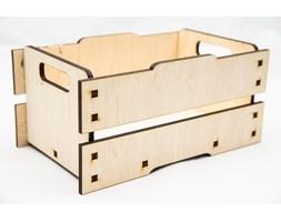 Drewniana skrzyneczka sztaplowana 22012 - Buy Design
