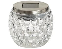 Lampa solarna na stół, lampion do ogrodu LED, dekoracja kula