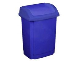 Plastikowy kosz na śmieci PLAST TEAM SWING NIEBIESKI 10 l -- niebieski - rabat 10 zł na pierwsze zakupy!
