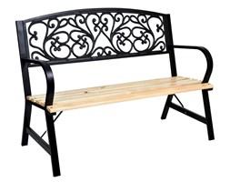 Ławka żeliwno-stalowa ogrodowa TITO