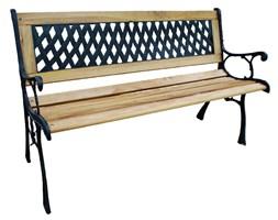 Ławka żeliwna ogrodowa KARO