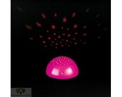 Reality Leuchten lampka nocna LED z projektorem gwiazd
