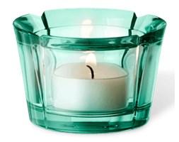 Świecznik szklany Grand Cru aquamarine - Rosendahl Copenhagen  - DECOSALON - 100% zadowolonych klientów!