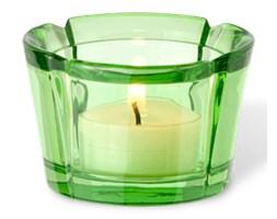 Świecznik szklany Grand Cru zielony - Rosendahl Copenhagen  - DECOSALON - 100% zadowolonych klientów!