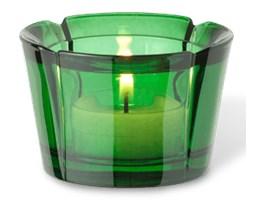Świecznik szklany Grand Cru ciemnozielony - Rosendahl Copenhagen  - DECOSALON - 100% zadowolonych klientów!