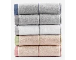 "Ręcznik ""Sweet Monik"" - 50x90 cm - srebrny/granatowy"