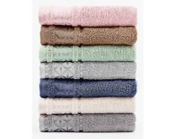"""Ręcznik """"Paola"""" - 50x90 cm - pudrowy"""
