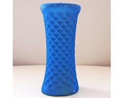 Candellana Geometric Honeycomb Candle świeca dekoracyjna plaster miodu Outlet II gatunek - Blue Pearl