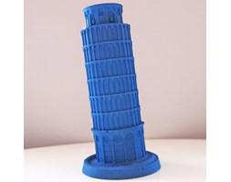 Candellana The Leaning Tower Of Piza Candle świeca dekoracyjna Krzywa Wieża w Pizie Outlet II gatunek - Dark Blue