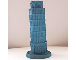 Candellana The Leaning Tower Of Piza Candle świeca dekoracyjna Krzywa Wieża w Pizie Outlet II gatunek - Turquoise Pearl