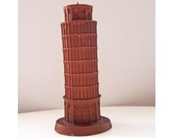 Candellana The Leaning Tower Of Piza Candle świeca dekoracyjna Krzywa Wieża w Pizie Outlet II gatunek - Brown Pearl