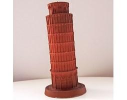 Candellana The Leaning Tower Of Piza Candle świeca dekoracyjna Krzywa Wieża w Pizie Outlet 2 II gatunek - Brown Pearl